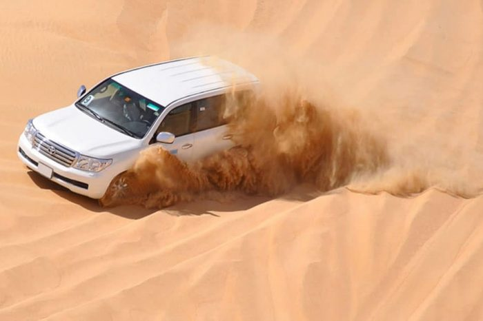 Dune Bashing Safari (Groups)